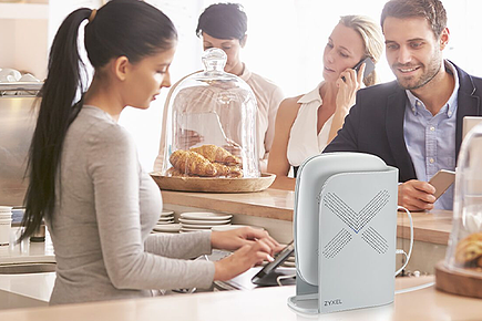 Zyxel Multy Plus is an AC3000 Tri-Band WiFi System that is easy to install with a user-friendly browser-based configuration.