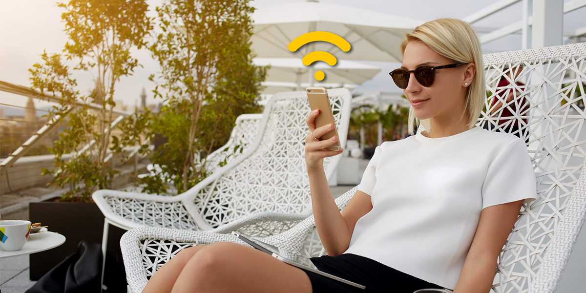 Zyxel smart antenna eliminates interference and delivers WiFi performance better than other industry-leading manufacturers.