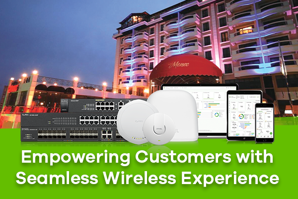 Zyxel's Hospitality Solutions improve customer satisfaction